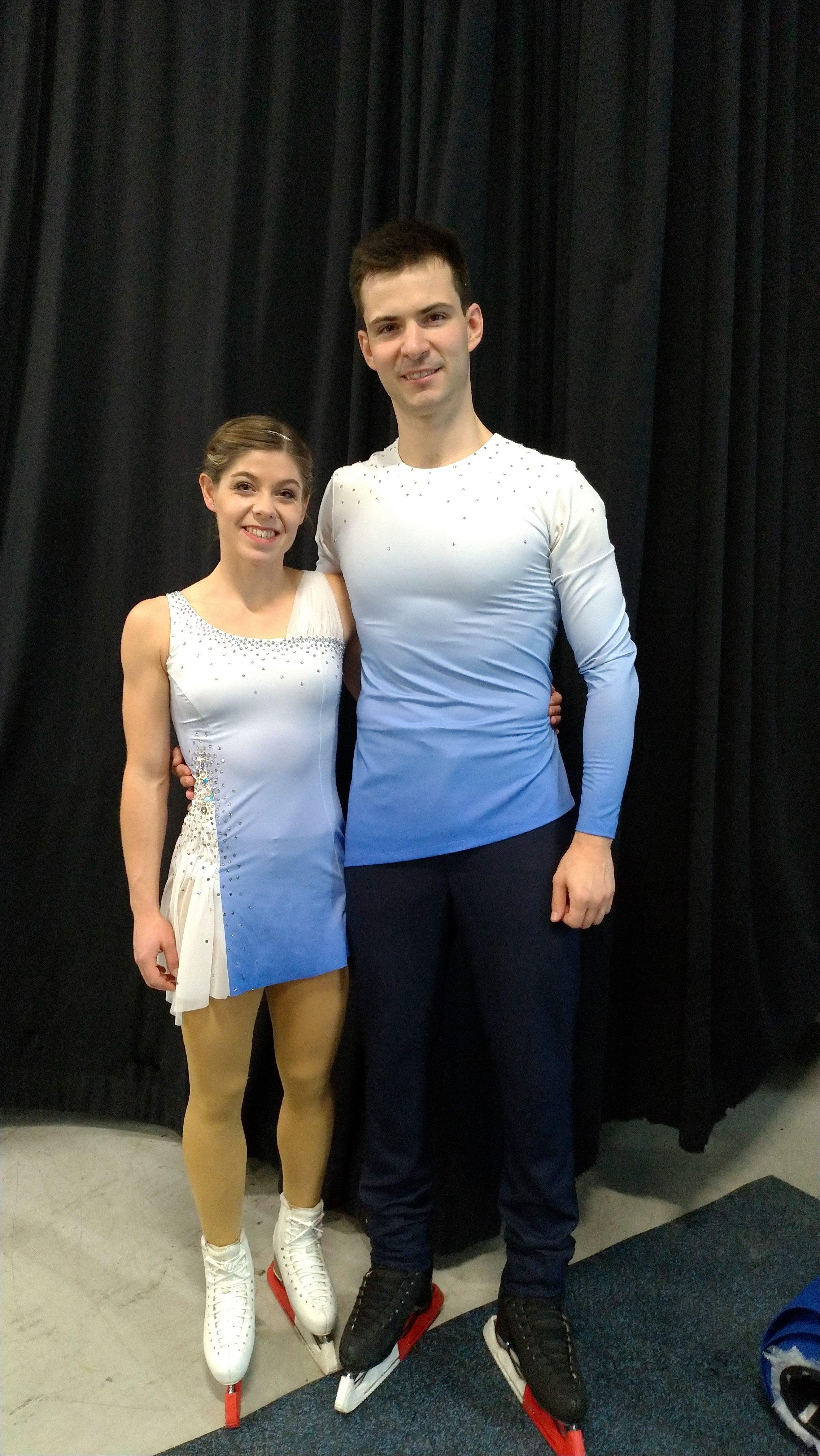 Miriam Ziegler ja Severin Kiefer nähtiin edellisen kerran Suomessa lokakuussa Finlandia Trophy Espoossa, jossa pari sijoittui neljänneksi.