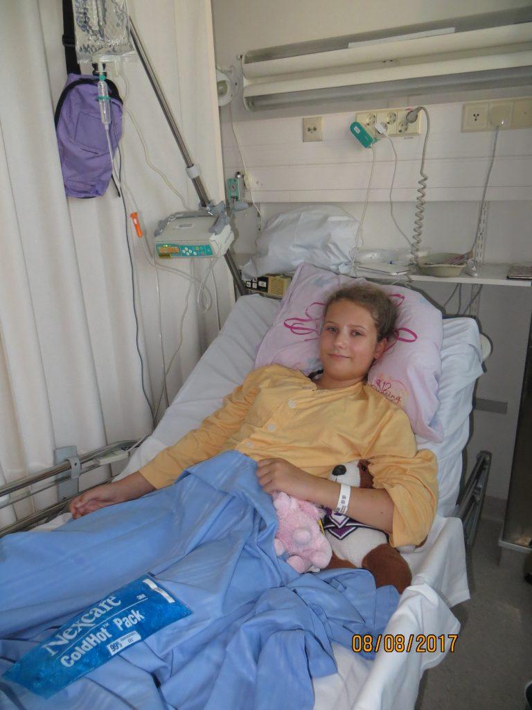 Erika Sirkiä toipui suuresta leikkauksesta yllättävän nopeasti.