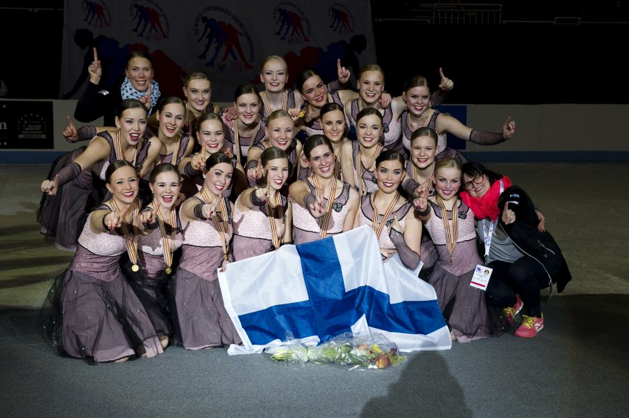 Vuonna 2013 oli jo kolmannen suo- malaisjoukkueen, Team Uniquen vuoro juhlia maailmanmestaruutta. Yhteensä Suomen joukkueet ovat tuoneet kotiin MM-kultaa yhdeksän kertaa.