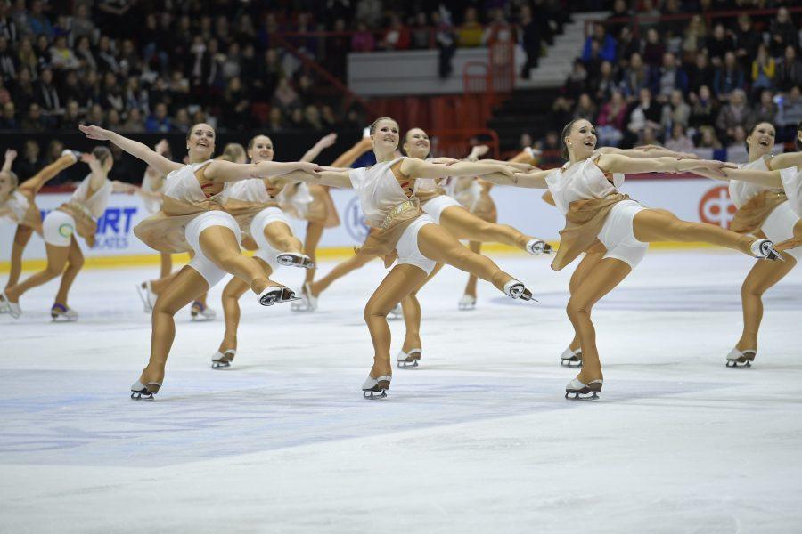 Magigold IceUnity MM-kilpailujen lyhytohjelmassa AL