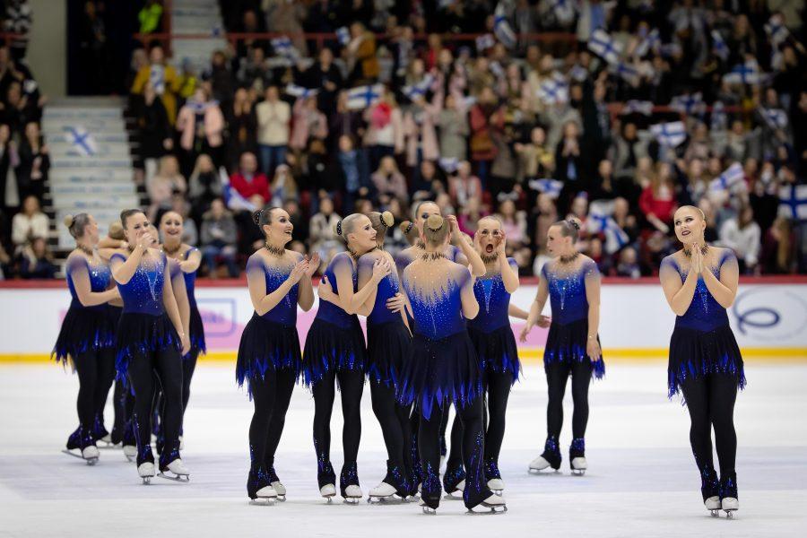 Tuore MM-pronssimitalisti Helsinki Rockettes