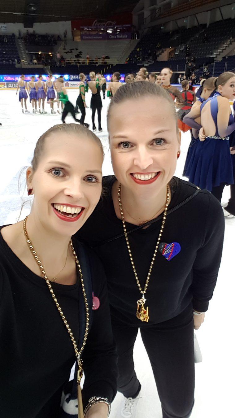 Essi Räisänen ja Elina Van Londersle