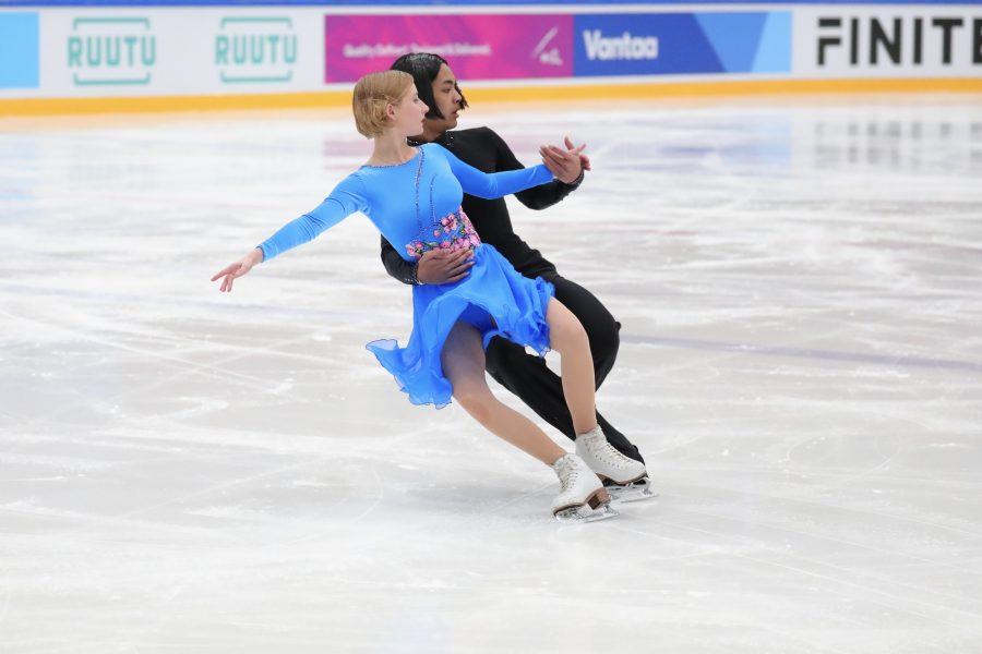 Daniela Ivanitskiy ja Samu Kyyhkynen Kuva Jari Marttila