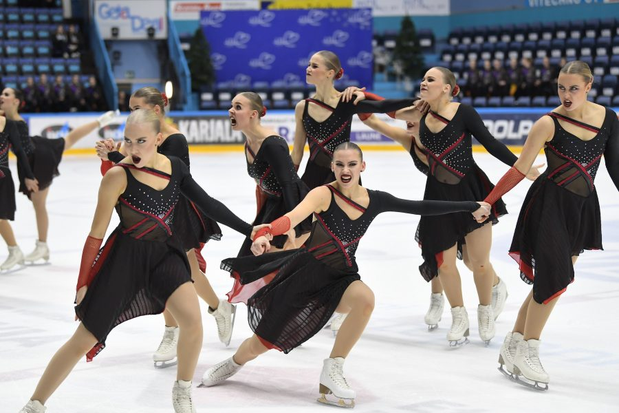 Team Unique luisteli päivän parhaat vapaaohjelmapisteet ja sijoittui kokonaiskilpailussa toiseksi.