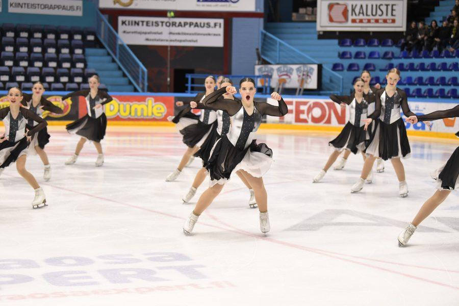 Team Dynamique luisteli 2. SM-valintakilpailun voittoon.