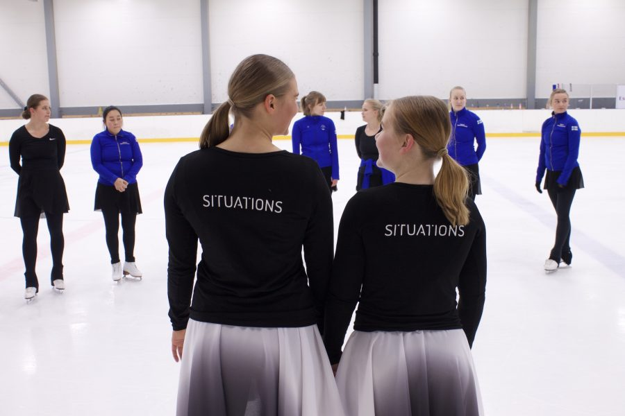 Alexandra Limnell ja Kiira Kivisaari Kuva Susanna Sykkö