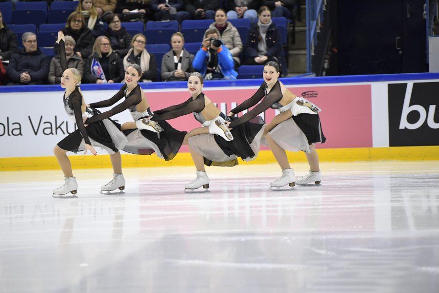 Team Dynamique (HSK) nappasi noviisien SM-hopeaa. Kuva Antti Lehto