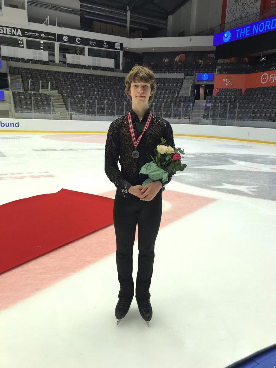 Lauri Lankila voitti ensimmäisen juniorisarjan PM-mitalinsa.