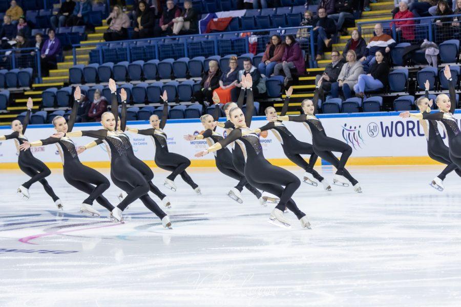 Team Mystique junioreiden MM-kilpailuissa Kuva Ville Levijärvi