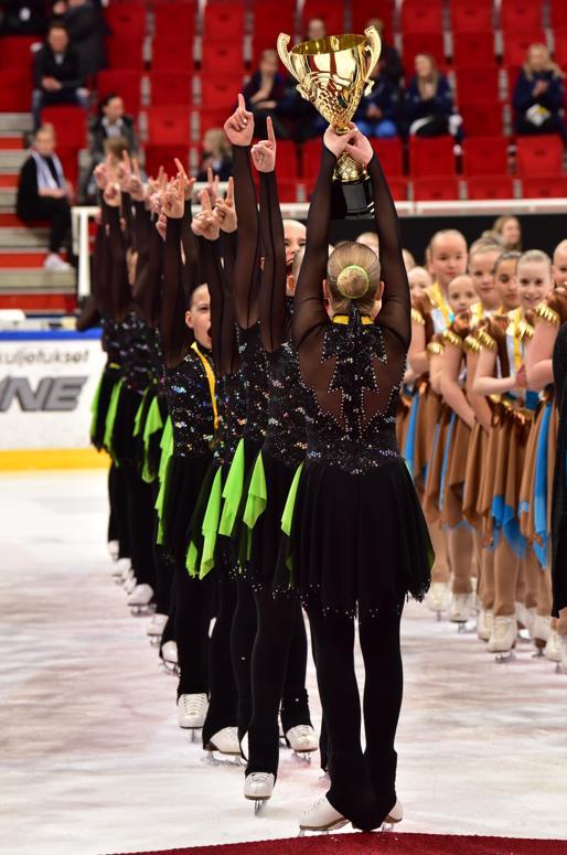 HTK:n MiniMints voitti kansallisten sarjojen loppukilpailun Turussa. Kuva Teijo Kurkinen