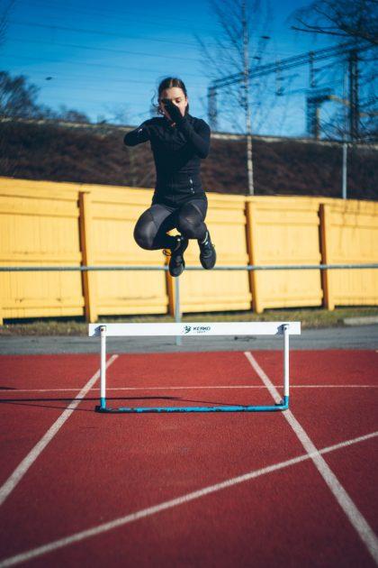 Helsingin Luistelijoiden yksinluisteluvalmennus on ottanut kuluneena aikana jättimäisen harppauksen entuudestaan tuntemattomiin valmennuskeinoihin. Kuva Virve Sammalkorpi