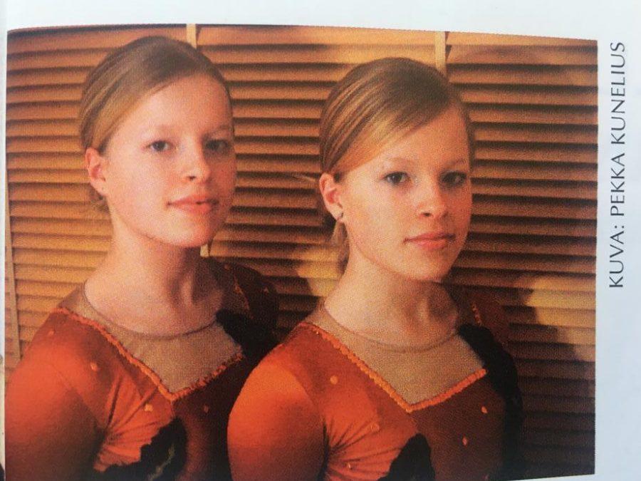 Kaksoset Hanna ja Heidi Kunelius valmentavat nykyään pääkaupunkiseudulla.