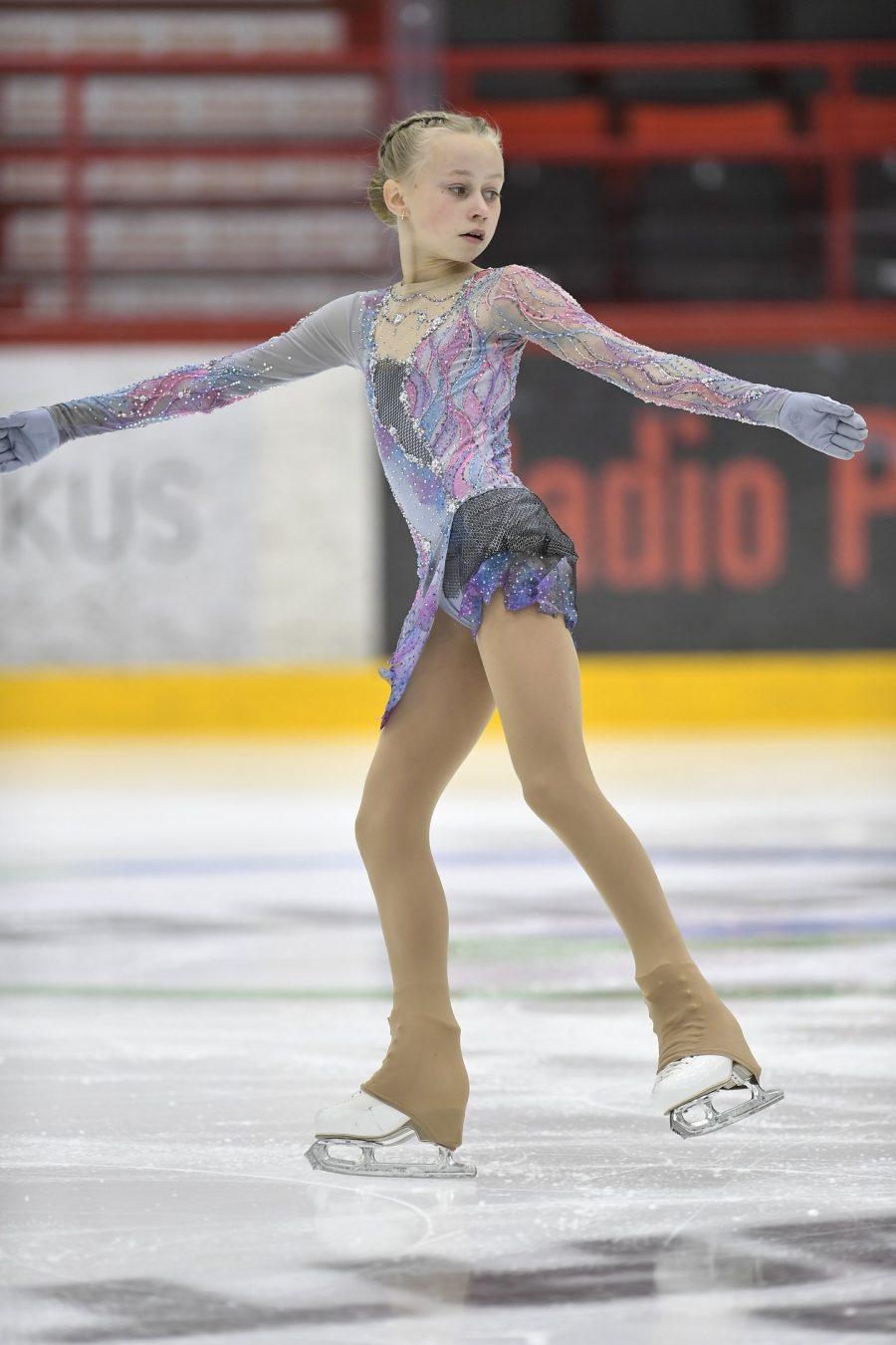Janna Jyrkinen voitti juniorityttöjen 1. SM-valintakilpailun.