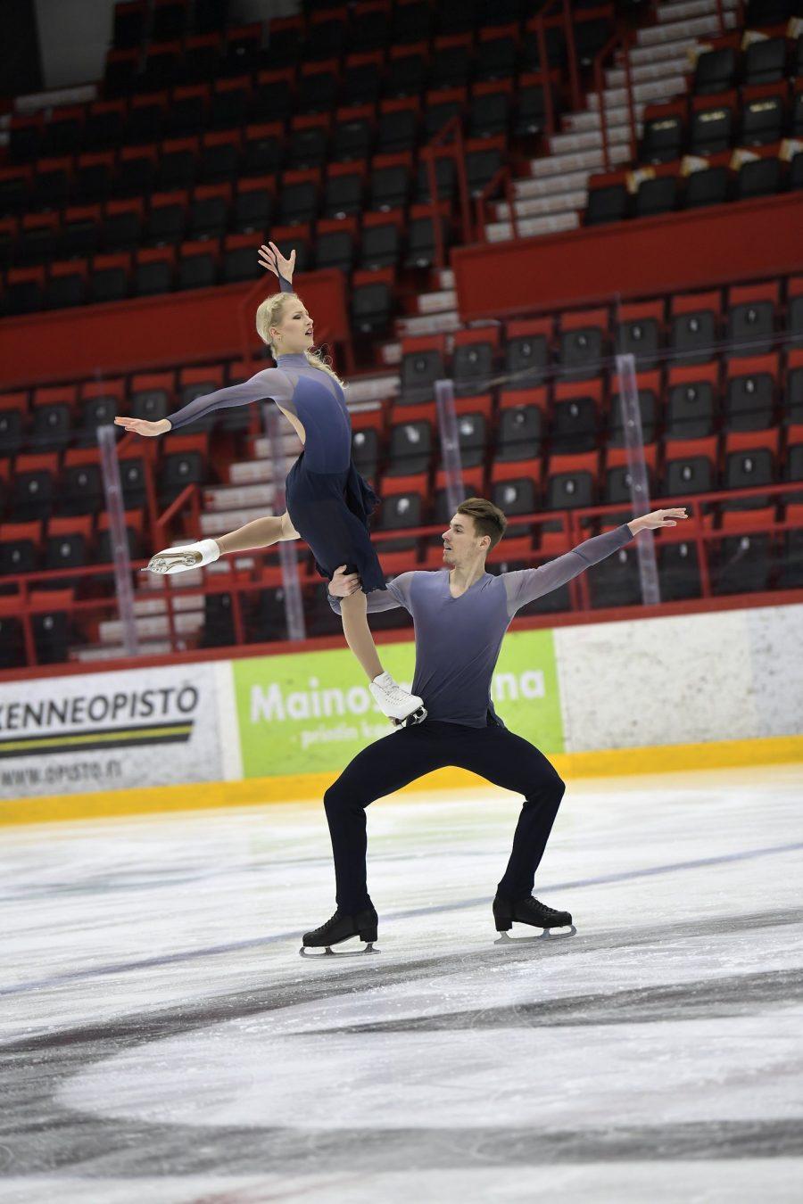 Juulia Turkkila ja Matthias Versluis Kuva Antti Lehto
