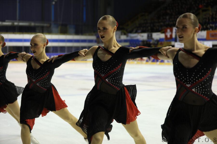Tuulia Niittuinperä Team Uniquen riveissä Hevelius Cupissa tammikuussa 2020.