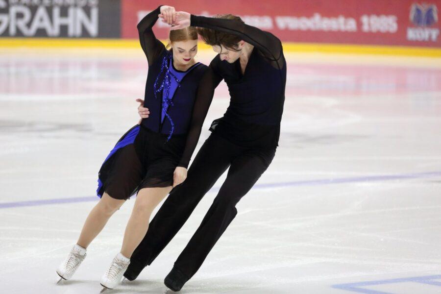 Arina Klinovitskaya ja Jussiville Partanen