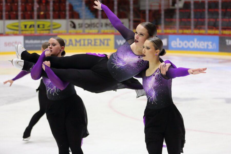 Hallitseva MM-hopeamitalisti Marigold IceUnity jätettiin viikonvaihteen kilpailussa kolmanneksi.