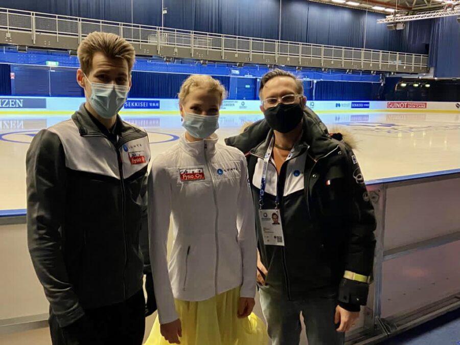 Juulia Turkkila ja Matthias Versluis eivät ole asettaneet itselleen sijoitustavoitetta MM-kilpailuun.