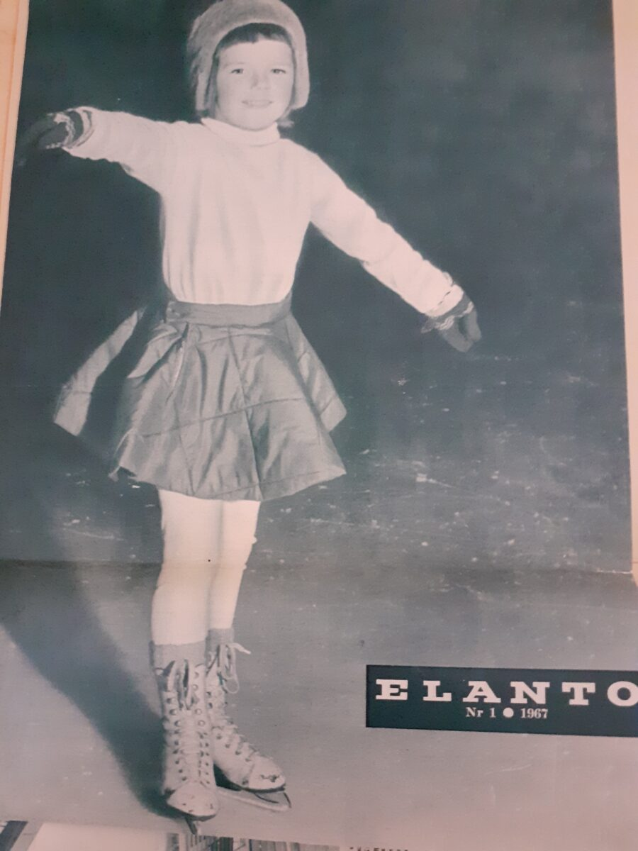 Pikku-Sirkka Elanto-lehden kansikuvatyttönä vuonna 1967.