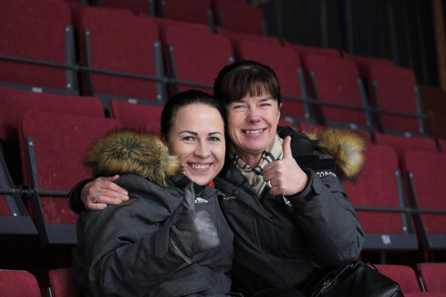 Sirkka Kaipio ja Alisa Drei